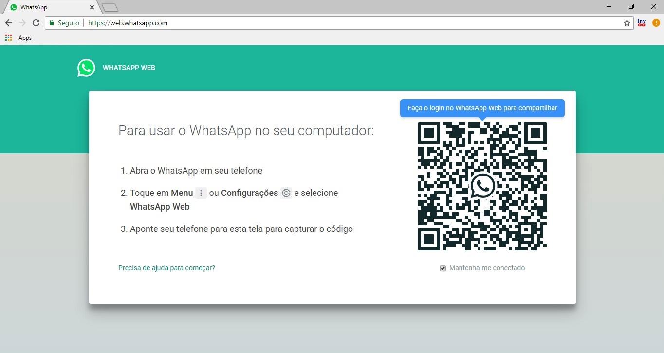 Como compartilhar link do whatsapp