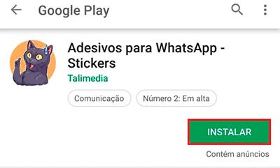 Aprenda como baixar mais figurinhas para o WhatsApp
