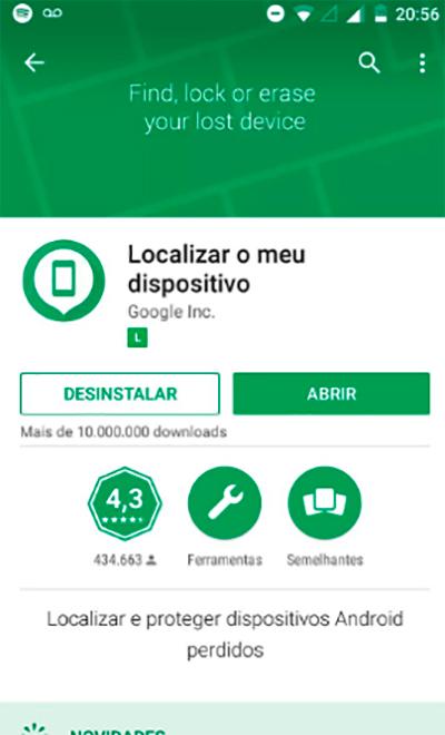 Como ativo o rastreamento do meu aparelho celular Android?