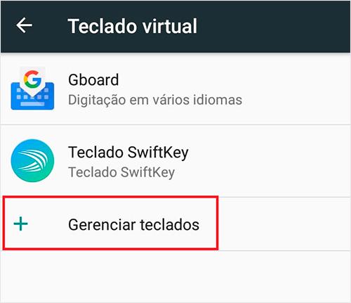 Como instalar um novo teclado no seu celular Android