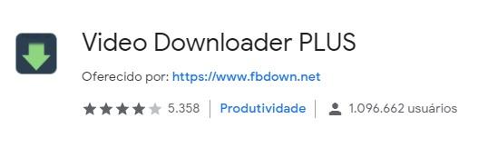 extensao-para-baixar-videos-no-google chrome