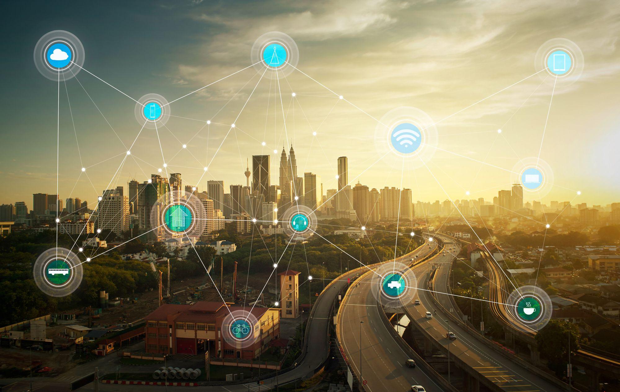 O papel da tecnologia na construção de cidades inteligentes