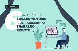 6 segredos dos squads virtuais para agilizar o trabalho remoto