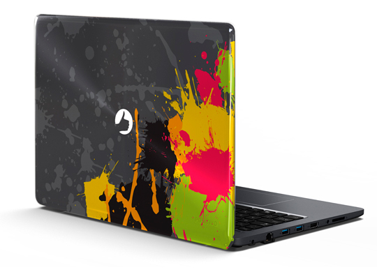 Capa Notebook Positivo Stilo - Painting